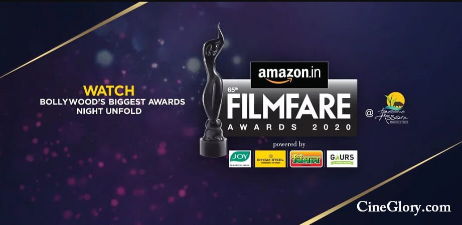 Nominations for the 65th Amazon Filmfare Awards 2020