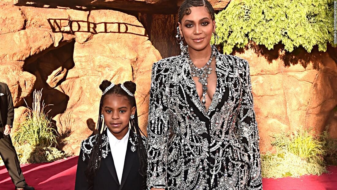 Blue Ivy Carter shines in mom Beyoncé's new campaign
