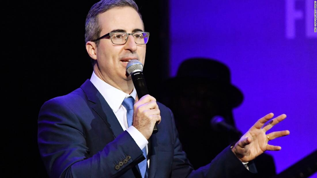 John Oliver talks possibility of another pandemic on season premiere of 'Last Week Tonight'