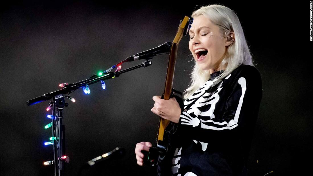 Phoebe Bridgers wants you to know women can smash guitars too