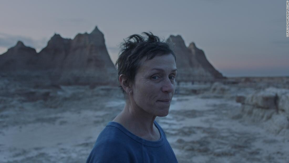 Review: 'Nomadland' drops Frances McDormand into a rootless life on the open road