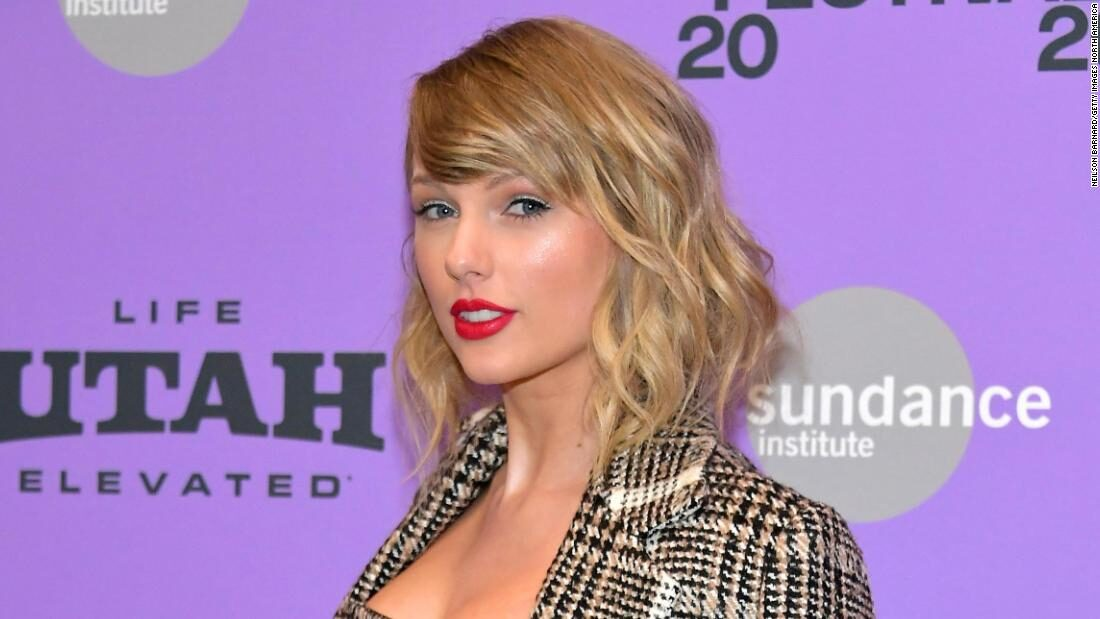 Taylor Swift's re-recorded 'Love Story' is back on top of the charts